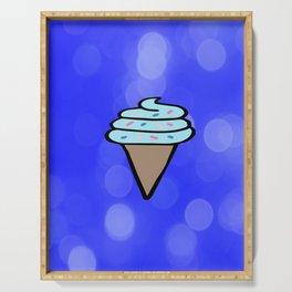 Ice Cream Sign, Ice Cream Print, Ice Cream Cone Art, Wall Art, Society6, Summer, Cute, Tropical, Serving Tray