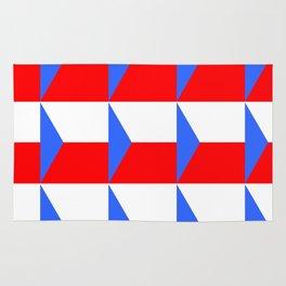 flag of Czech 3 -Czechia,Česko,Bohemia,Moravia, Silesia,Prague. Rug