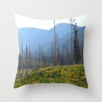 montana Throw Pillows featuring Montana by MelissaLaDouxPhoto