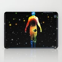 sagan iPad Cases featuring The Universe is in Us by Ismael Sandiego