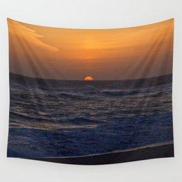 Beach Sunset Wall Tapestry