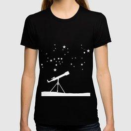 Astronomy Stars Galaxy Sun Moon Planets Space Gift T-shirt
