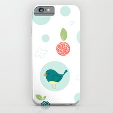 Birds with Polka Dots Slim Case iPhone 6s