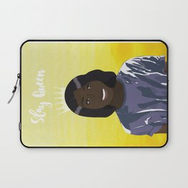 Slay Queen Dark Girl Illustration Laptop Sleeve