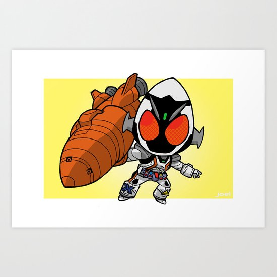 Fourze Mini-Print Art Print