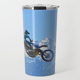 Revelstoke Ride - MotoX Racing in British Columbia Travel Mug