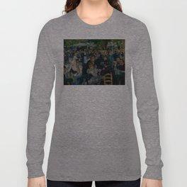 Auguste Renoir - Dance at Le Moulin de la Galette Long Sleeve T-shirt