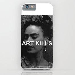 ART KILLS - FRIDA KAHLO iPhone Case