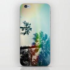 Palm trees of Barcelona iPhone Skin
