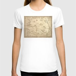 Map of Imirillia T-shirt