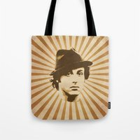 rocky Tote Bags featuring Rocky by Durro