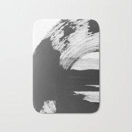 Black and White Gallery Wall Art Bath Mat