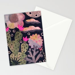 Cactus-Scape Stationery Cards