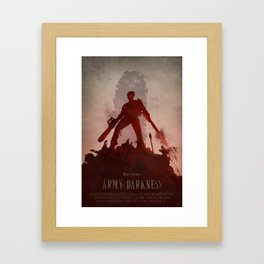 Army Of Darkness Framed Art Print