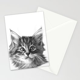 Maine Coon kitten G114 Stationery Cards