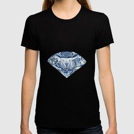 Diamond and flowers T-shirt