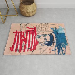 Picasso after Basquiat Rug