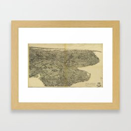 The Borough of Brooklyn, New York (1897) Framed Art Print