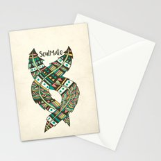 Soulmate Feathers Stationery Cards