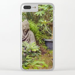 Japanese style Decoration at Guayaquil Botanical Garden Clear iPhone Case