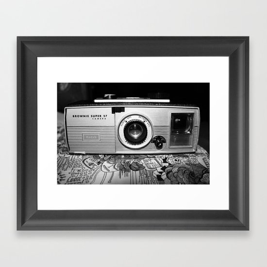 camera  Framed Art Print