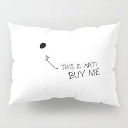 Buy me — Poster, Art Print, Poster Skandinavisch, Kunst, Kunstdruck, modern art, Illustraion, black Pillow Sham