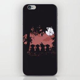 3 Monkeys and 1 Legend iPhone Skin