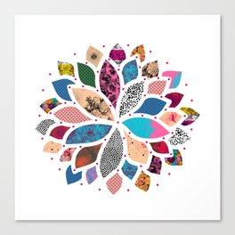Cosmic Flower  Canvas Print