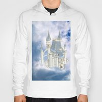 fairytale Hoodies featuring Fairytale Castle by Simone Gatterwe