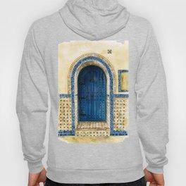 door collection: blue door Hoody