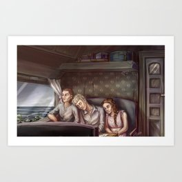 Train to Imachara Art Print