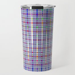 blue chromatic Travel Mug