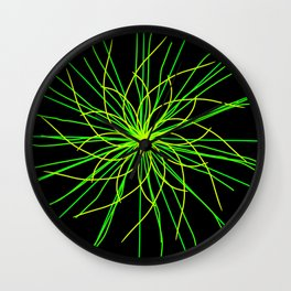 Flower Drop Wall Clock