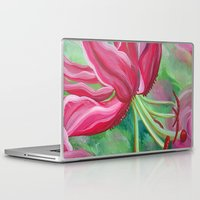 lily Laptop & iPad Skins featuring lily by Beth Jorgensen