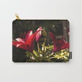 Red Lilys Carry-All Pouch