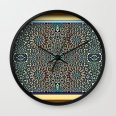 Egyptian Garden Wall Clock