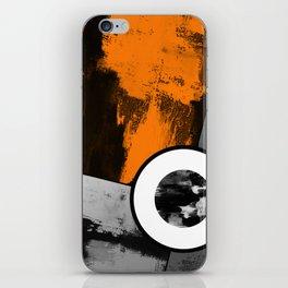 Metallic Scope - Abstract, geometric, metallic cross hair scope design iPhone Skin