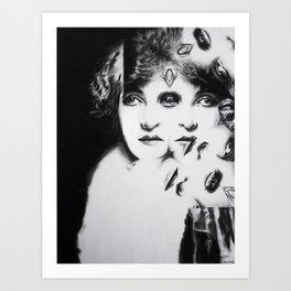 Love is like a Cardtrick Art Print