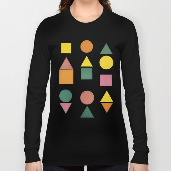 Shape Sorter Long Sleeve T-shirt