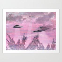 Alien Age Art Print
