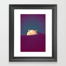 Bed Time #2 Framed Art Print