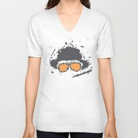 fear and loathing V-neck T-shirts featuring Fear and Loathing in Las Vegas by Jacob Wise