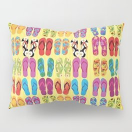 Flip Flop Pop Pillow Sham