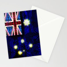 circuit board australia (flag) Stationery Cards
