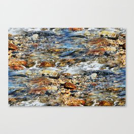 Peaceful Soothing Waters Canvas Print