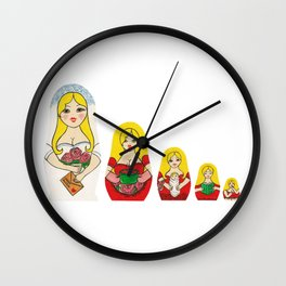 Russian Mail Order Bride Wall Clock