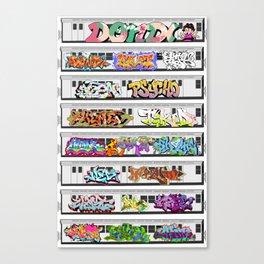 GRAFFITI CLASSICS Canvas Print