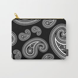 Invert paisley pattern Carry-All Pouch