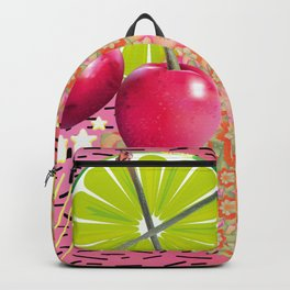 Candied Fruities, Flowered Cooties Backpack