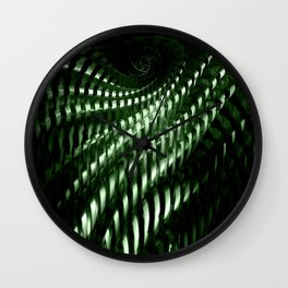 Fractal structure Wall Clock